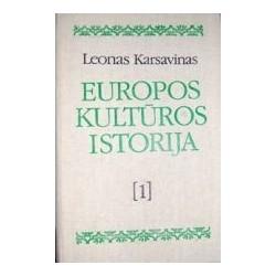 Europos kultūros istorija 1