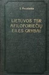 Lietuvos TSR afiloforiečių...