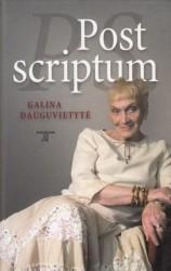 Galina Dauguvietytė knyga Post scriptum