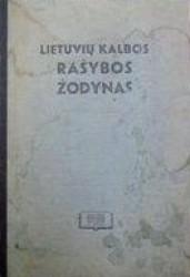 Lietuvių kalbos rašybos...