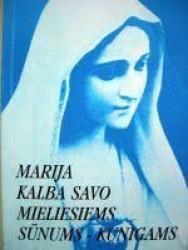 Marija kalba savo...