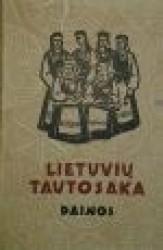 Lietuvių tautosaka I tomas....