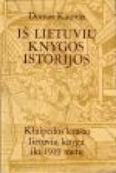 Iš lietuvių knygos istorijos