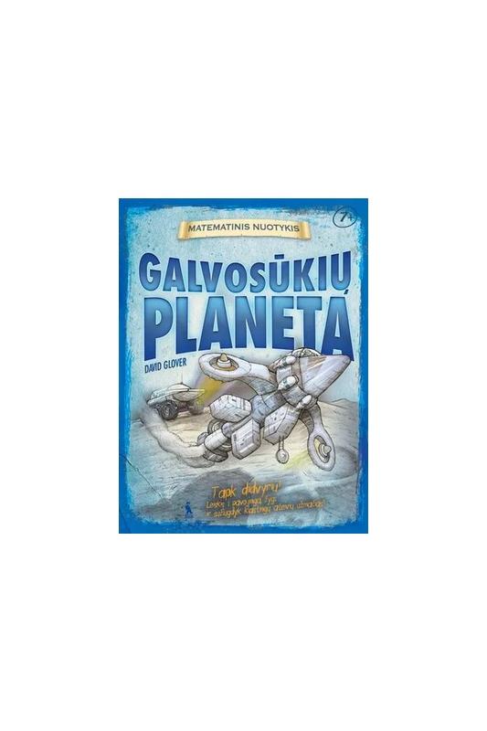 David Glover knyga Galvosūkių planeta