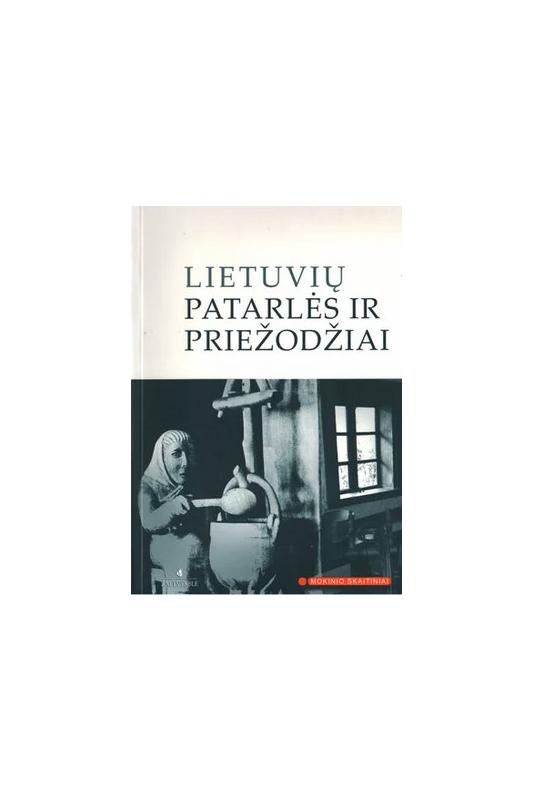 Knyga Lietuvių patarlės ir priežodžiai