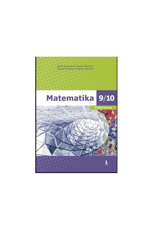 Ingrida Brazauskienė knyga Matematika 9/10. Uždavinynas