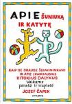 Josef Čapek knyga Apie šuniuką ir katytę
