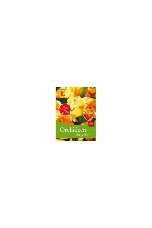 Knyga apie orchidėjas Orchideen fur jeden
