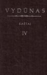 Raštai IV. Vokiečių kalba...