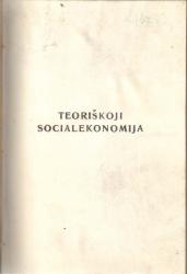 Teoriškoji socialekonomija